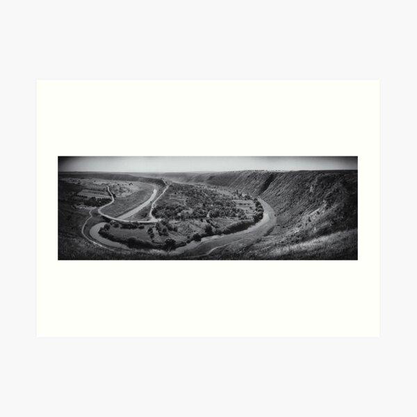 Orheiul Vechi Panorama Art Print