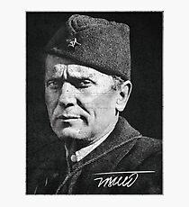 Josip Broz Tito - Marshal - Drug Photographic Print