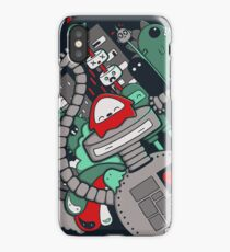 Robot Town iPhone Case