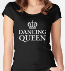 Dancing Queen Women's Fitted Scoop T-Shirt