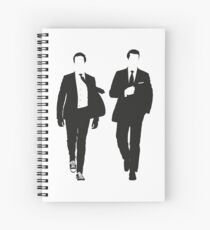 Suits Spiral Notebook