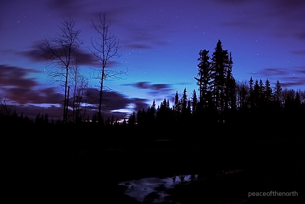 That Moment before Dawn by peaceofthenorth