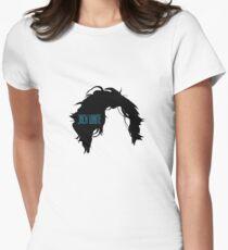 Minimalist Jack White Logo Women's Fitted T-Shirt