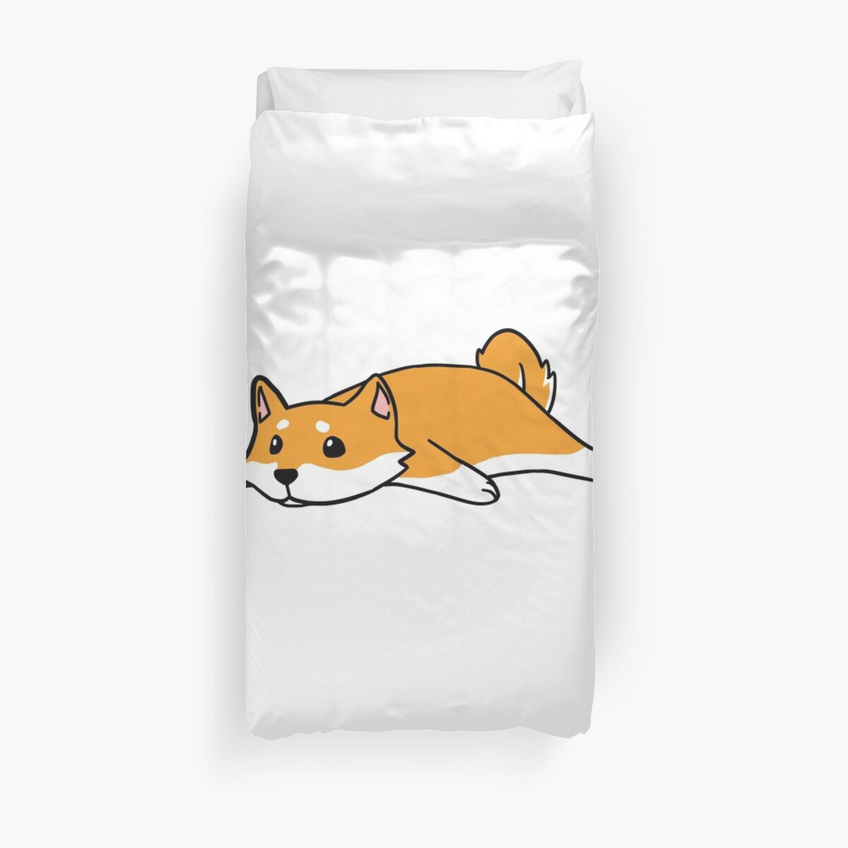 Funny Not Today Shiba Inu by ilovepaws