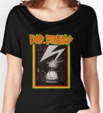 Camiseta ancha No más cerebros menores