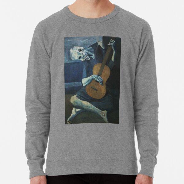Old Guitarist by Picasso Lightweight Sweatshirt