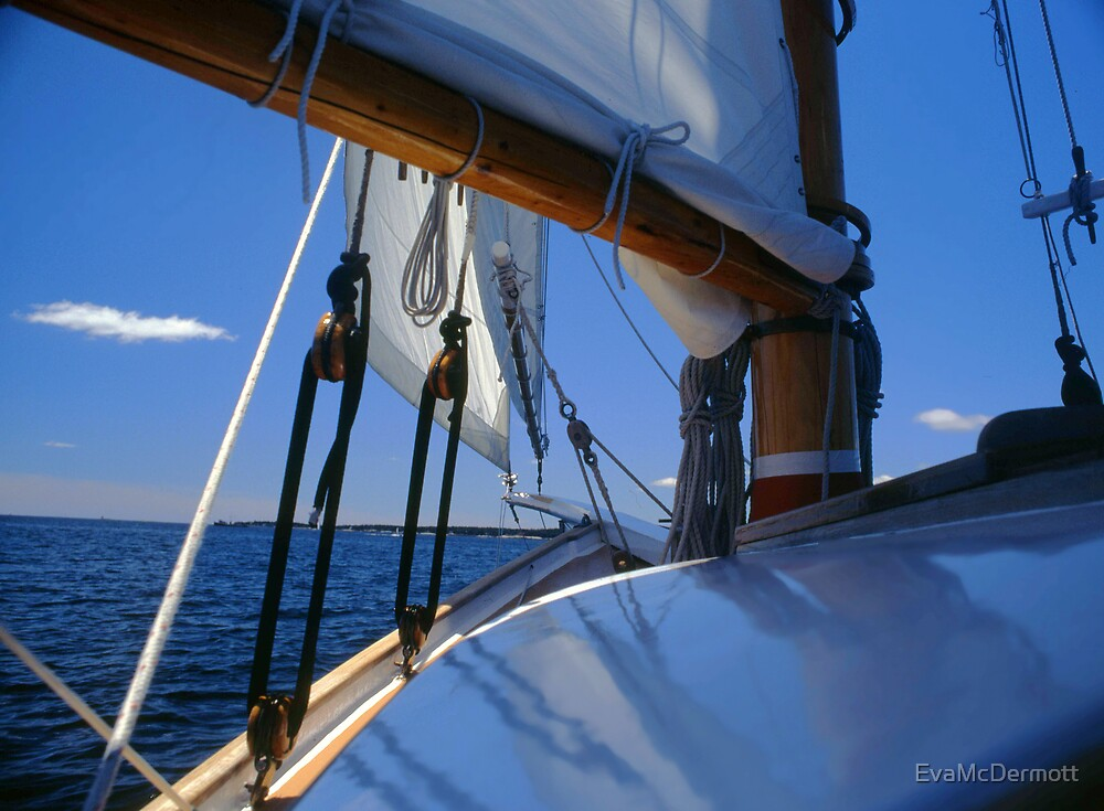 View from a Friendship Sloop by EvaMcDermott