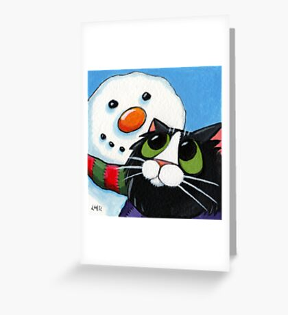 Frosty and Sox Greeting Card