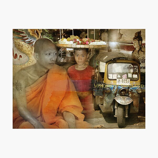 Visions of Thailand Series 1 Photographic Print