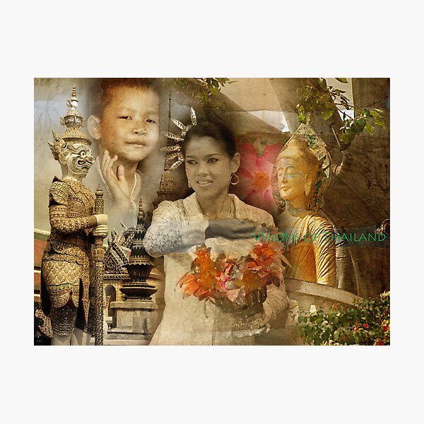Visions of Thailand Series 2 Photographic Print