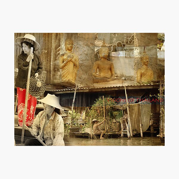 Visions of Thailand Series 3 Photographic Print