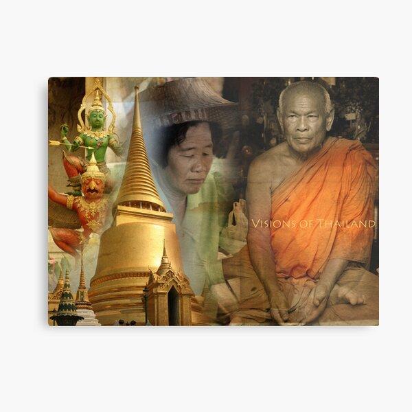 Visions of Thailand Series 4 Metal Print