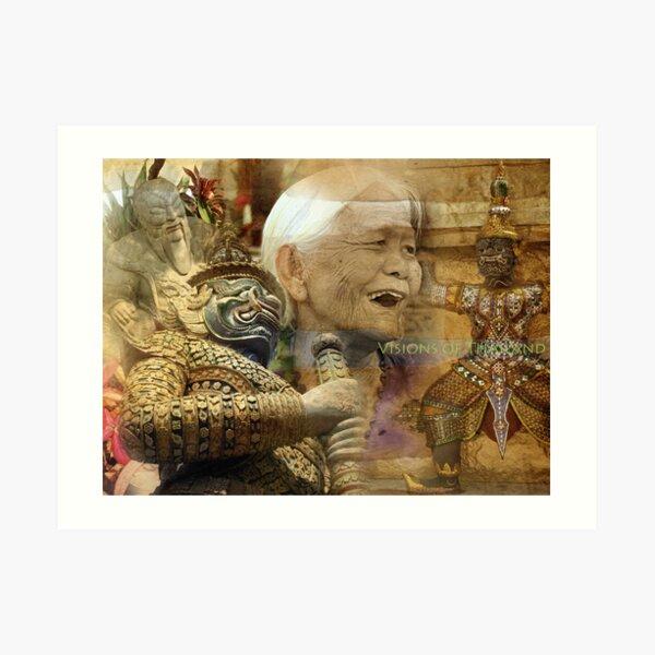 Visions of Thailand Series 5 Art Print