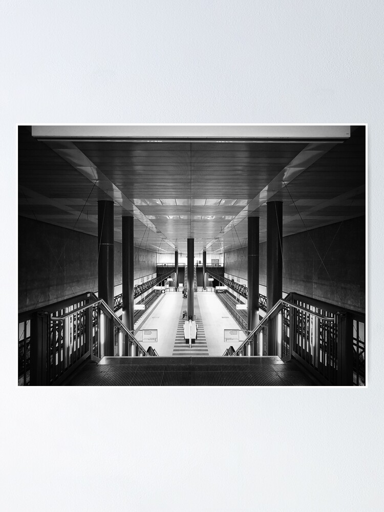 Alternate view of Symmetrical station Poster