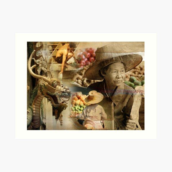 Visions of Thailand Series 6 Art Print