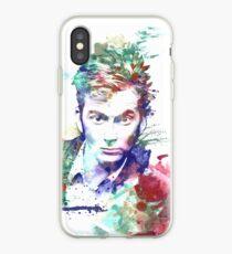 Watercolor Doctor Ten iPhone Case