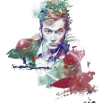 Watercolor Doctor Ten by Ryleh-Mason