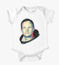 Body de manga corta para bebé Neil Armstrong
