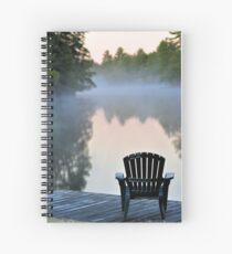 Dock with Chair Spiral Notebook