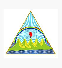 Coat of Arms of Nicaragua Photographic Print