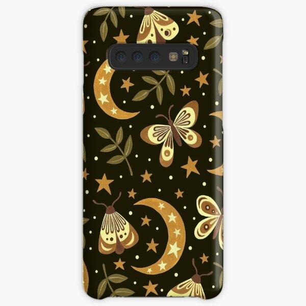 Moons and moths Samsung Galaxy Snap Case