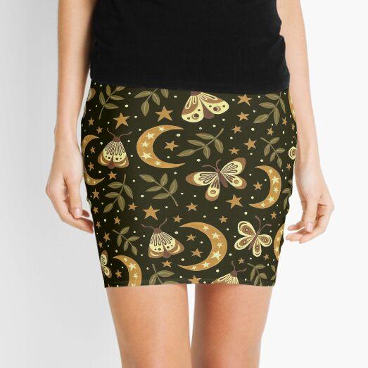 Moons and moths Mini Skirt