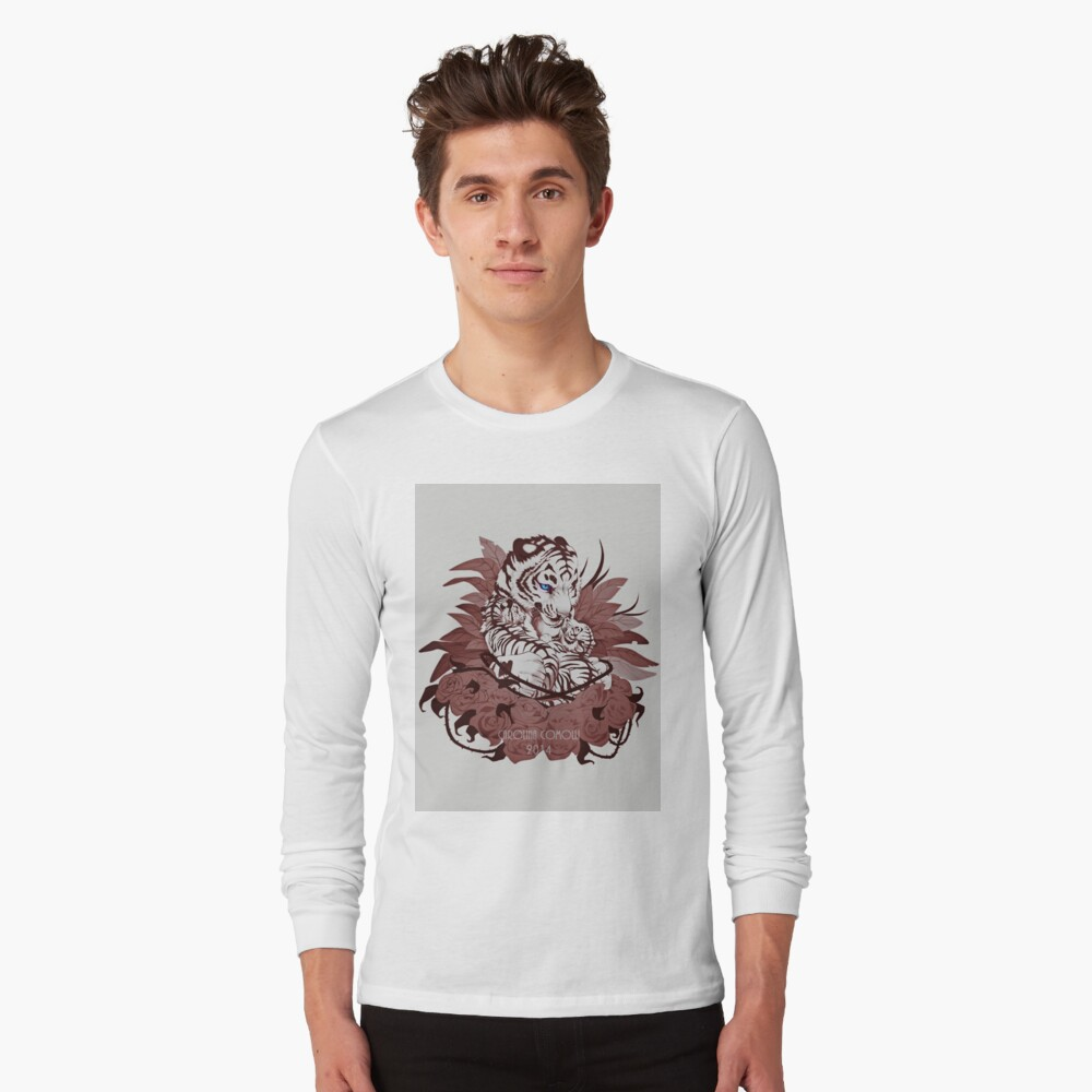 Madre tigre Long Sleeve T-Shirt Front