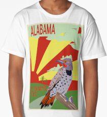 Alabama, Yellowhammer State,Poster Long T-Shirt