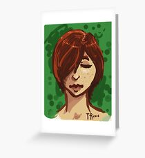 Tranquil Green Greeting Card