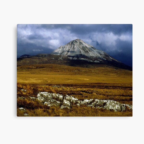 Mount Errigal, Ireland Canvas Print