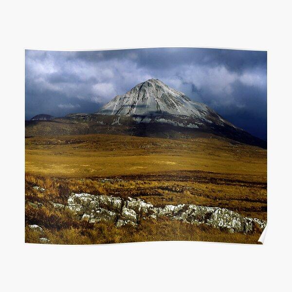 Mount Errigal, Ireland Poster