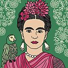 Frida Kahlo by franzi