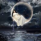 Moon Goddess by wetherellart