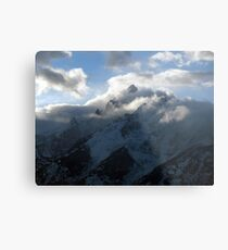Grand Teton Clearing Storm Metal Print