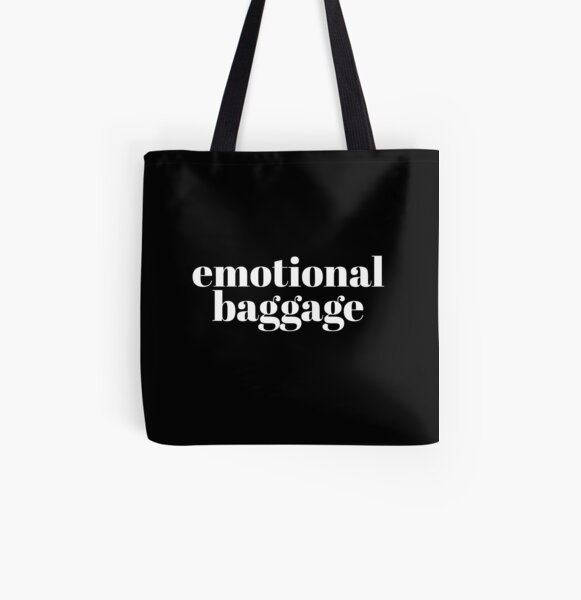 Emotional Baggage All Over Print Tote Bag