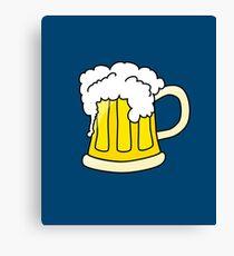Beer Festival Emoji  Canvas Print