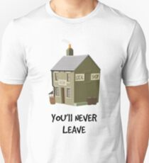 You'll Never Leave (Dark Text) Unisex T-Shirt