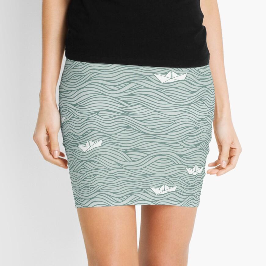Little Paperboats Mini Skirt