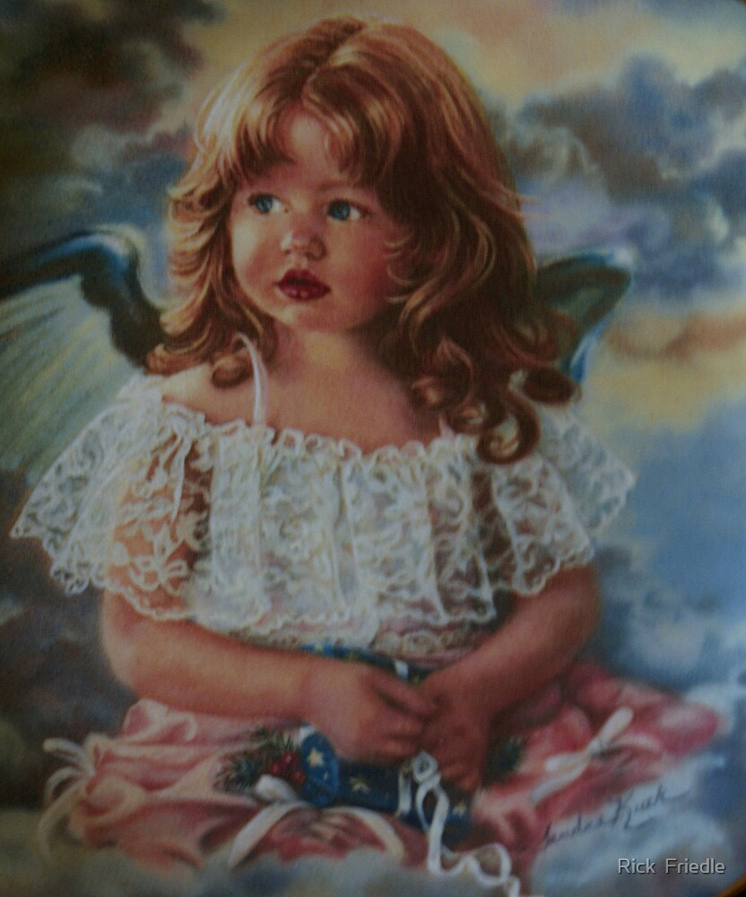 Little Angel by Rick  Friedle