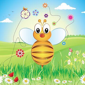 Sweet Little Bee by TeeShow