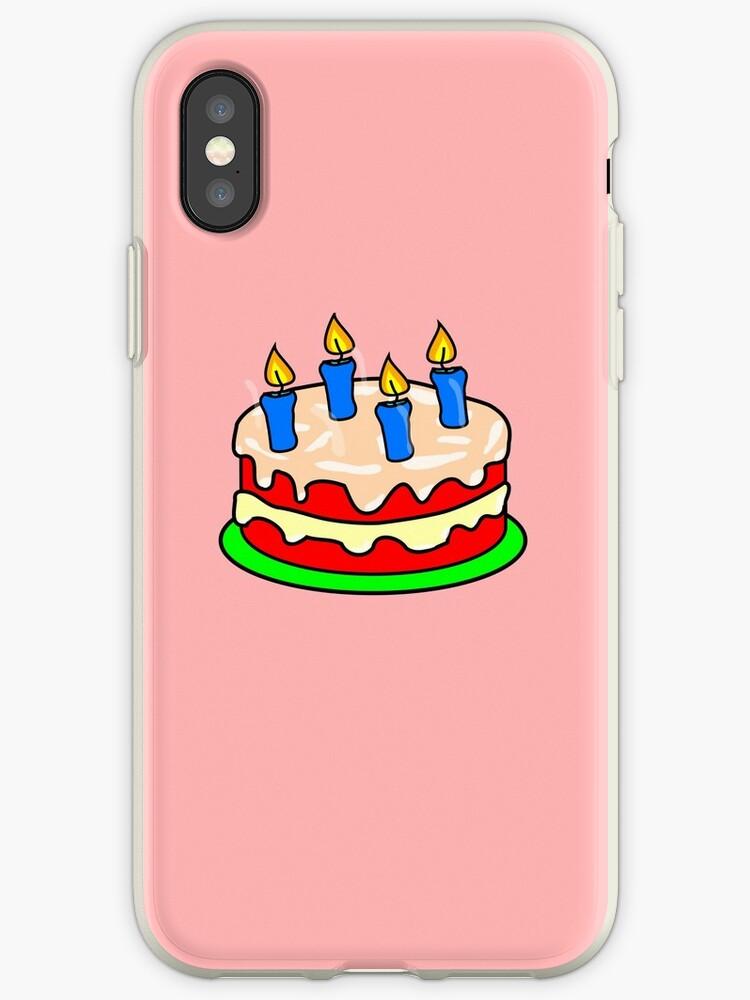 Strawberry Birthday Cake Emoji Von PrintPress
