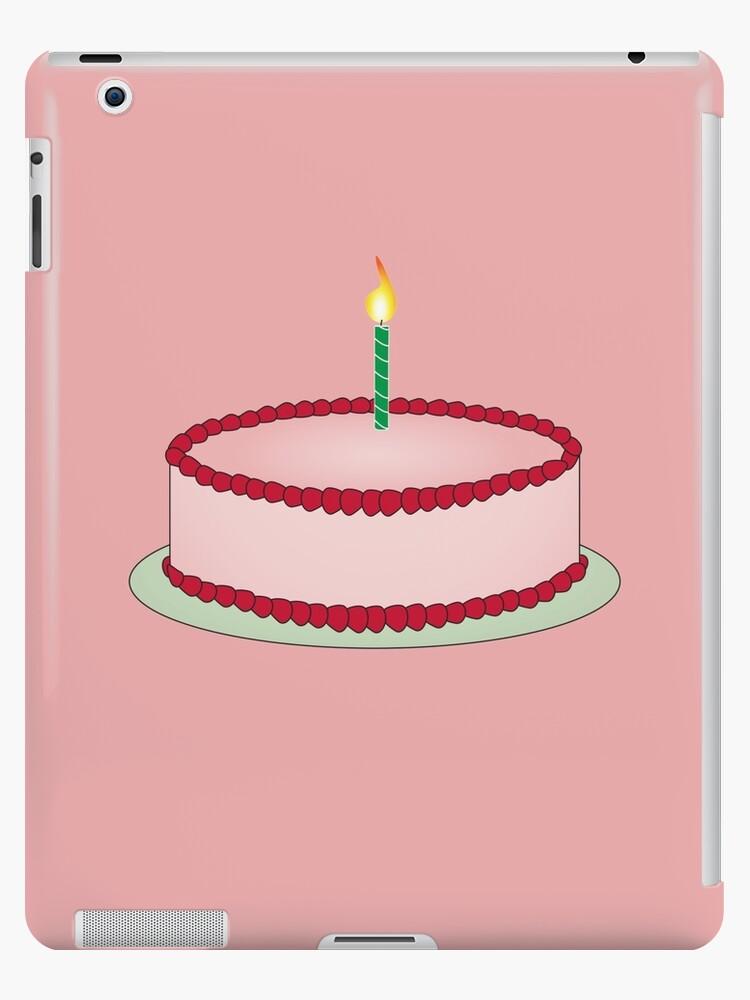 Strawberry Birthday Cake Emoji