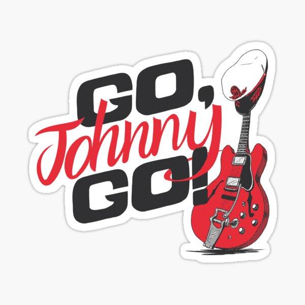 Go, Johnny Go! Pegatina