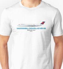 McDonnell Douglas MD-88 - Delta Air Lines Unisex T-Shirt