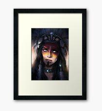 Druidess Framed Print