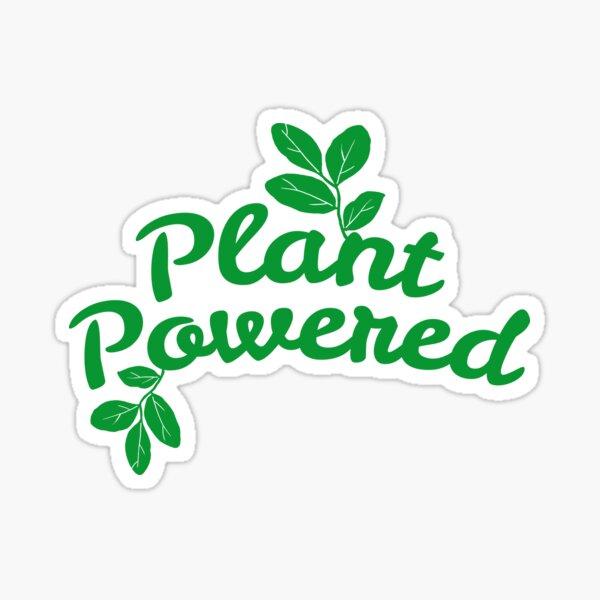 Plant Powered Sticker