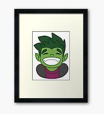 Beast Boy - Teen Titans Framed Print