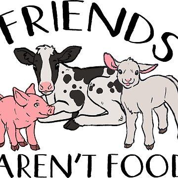 Los amigos no son comida de comfykindness