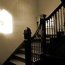 Vintage Stairway by Chet  King