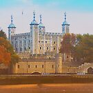 Ancient Tower Of London by JohnYoung